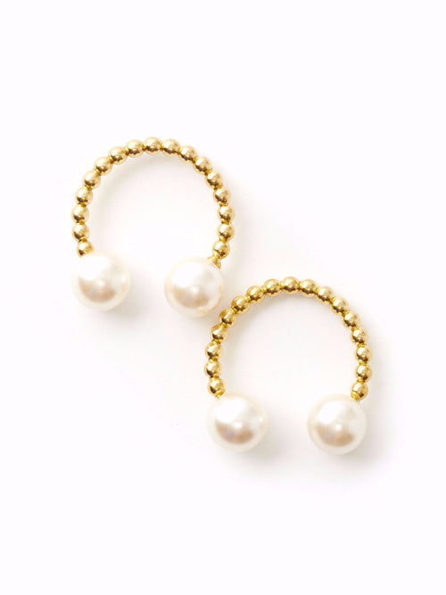 Duality Pearl Earrings