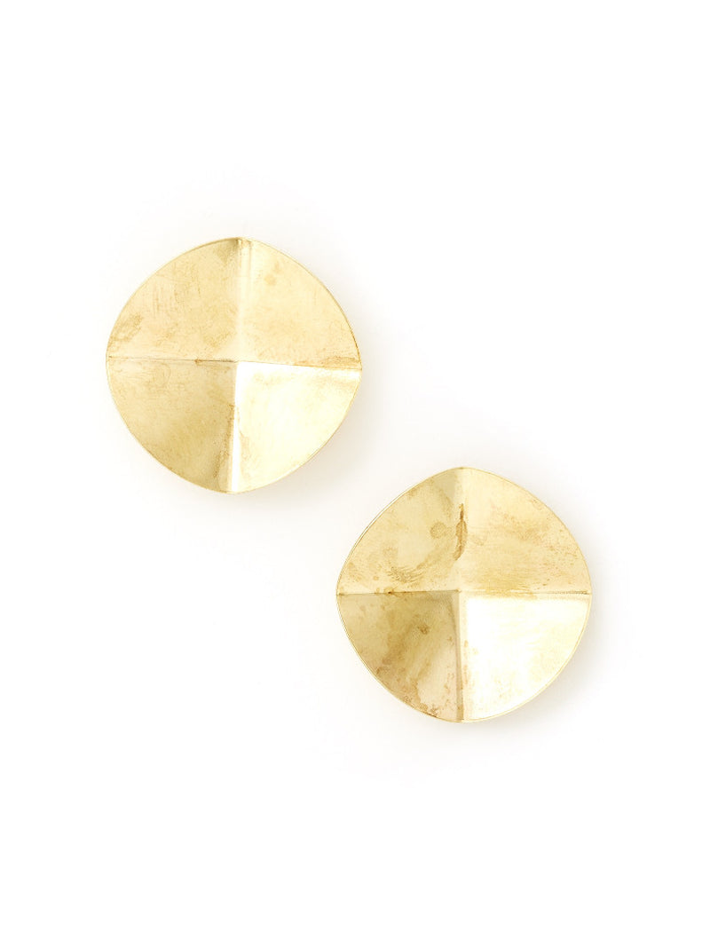 Radial Folded Earrings