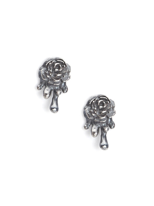 Melting Rose Studs