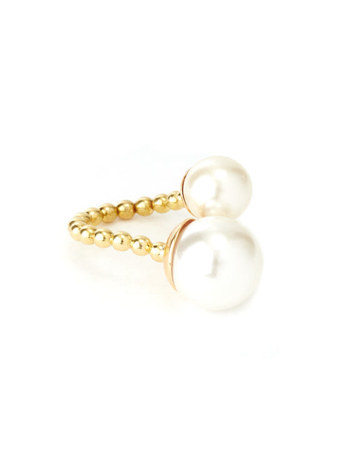 Duality Pearl Ring