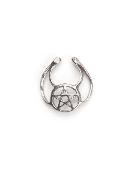 Pentacle Septum Ring