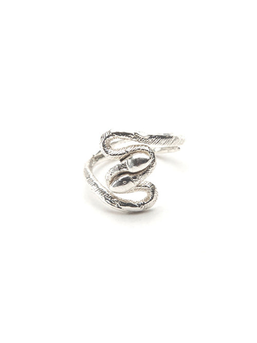 Twisted Snakes Midi Ring