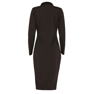 Tuxedo Dress-Dress-Estelle