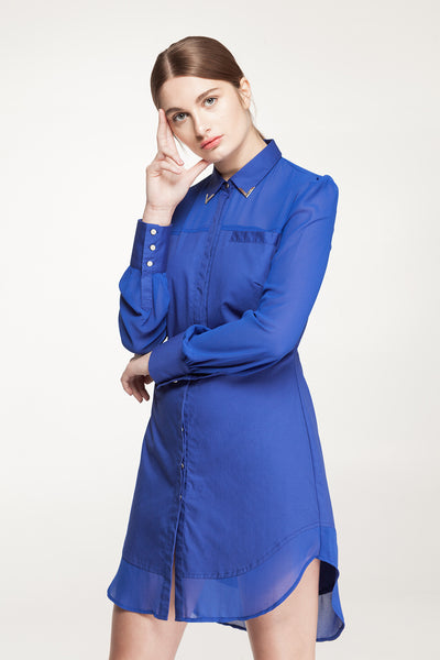 Tara Shirt Dress-Dress-Estelle
