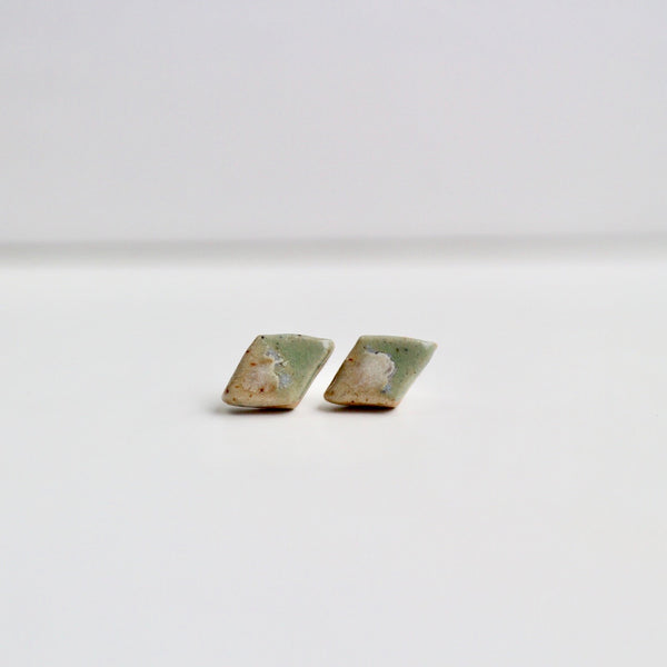Salted Pistachio Diamond Studs
