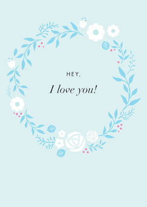 Hey, I Love You! (card)