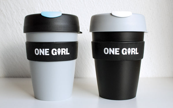 One Girl KeepCup Medium - Black