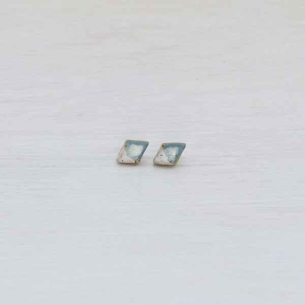 Snowy Mountain Diamond Studs