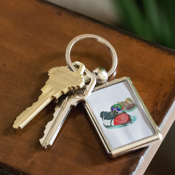 Wood Duck Keychain