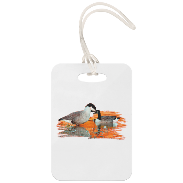 Goose Luggage Tag