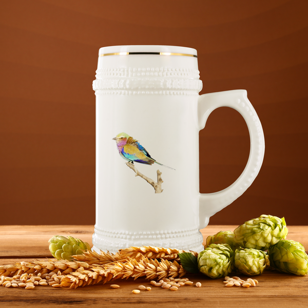 Lilac-breasted Roller Beer Stein