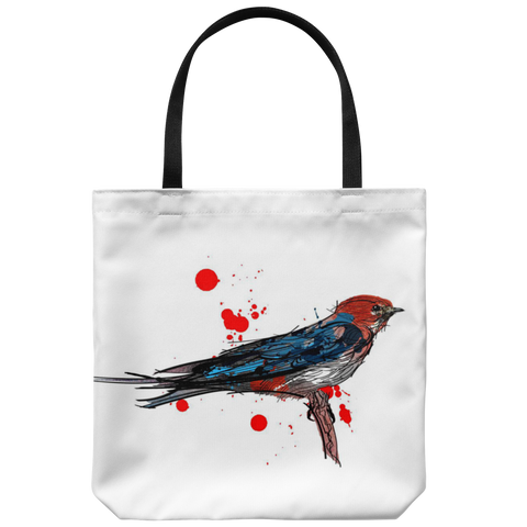 Lesser Striped Swallow Tote Bag