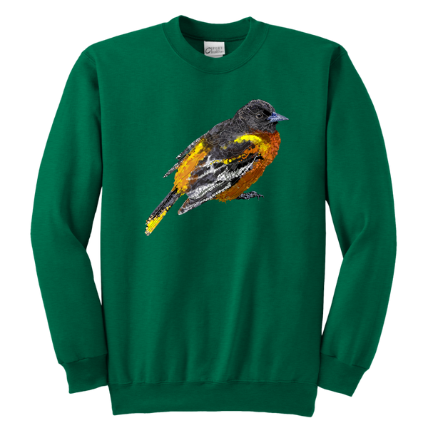 Baltimore Oriole Youth Crewneck Sweatshirt