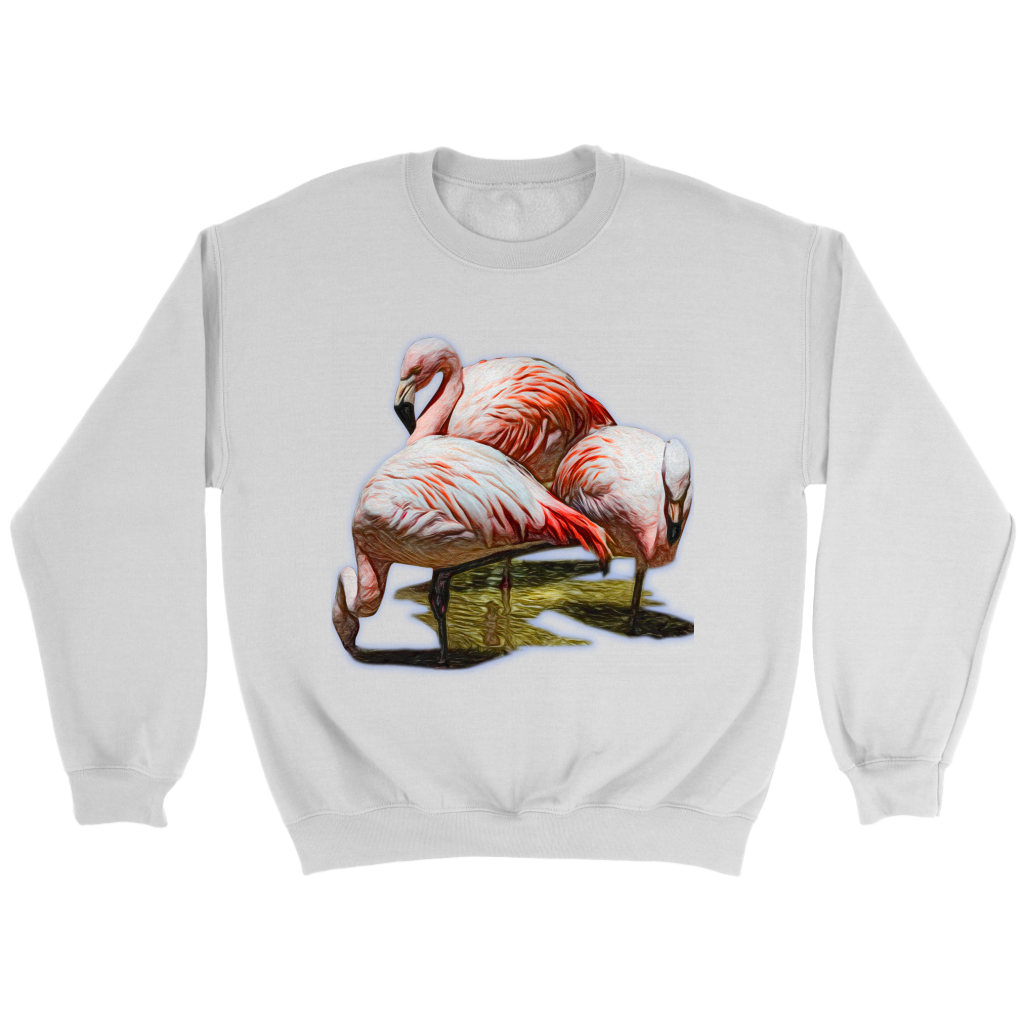 Flamingo Crewneck Sweatshirt
