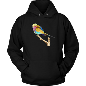 Lilac-breasted Roller Unisex Hoodie