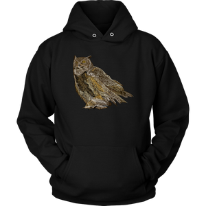 Great Horned Owl Unisex Hoodie