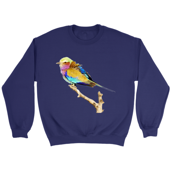 Lilac-breasted Roller Crewneck Sweatshirt