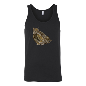 Great Horned Owl Unisex Tank