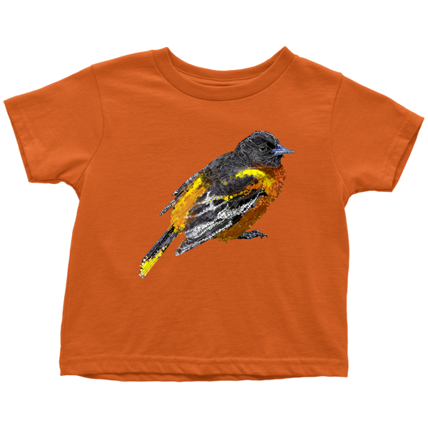 Baltimore Oriole Toddler T-Shirts
