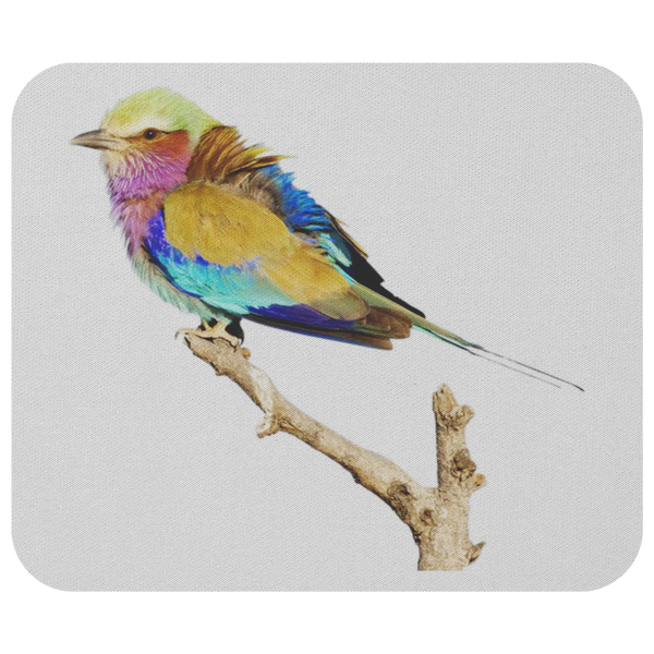 Lilac-breasted Roller Mousepad