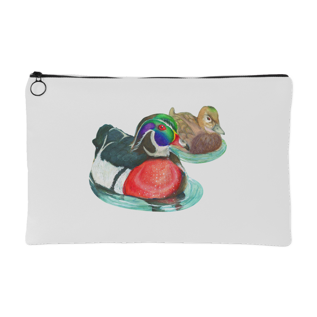 Wood Duck Small Accessory Pouch