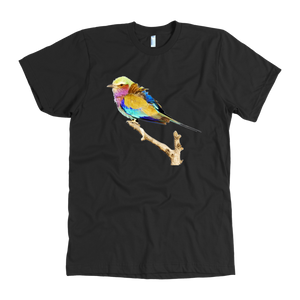 Lilac-breasted Roller American Apparel Mens