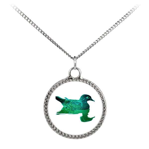 Duck Necklace Deco Coin
