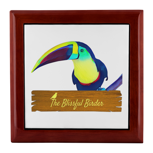 Toucan Jewelry Box