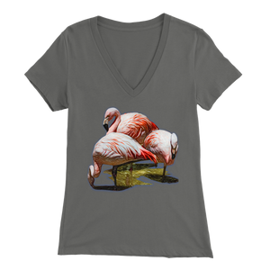 Flamingo Bella Womens V-Neck