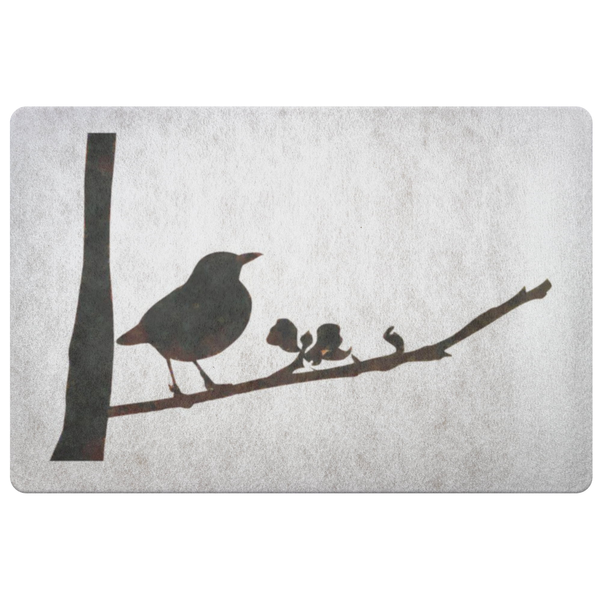 Black Bird Doormat