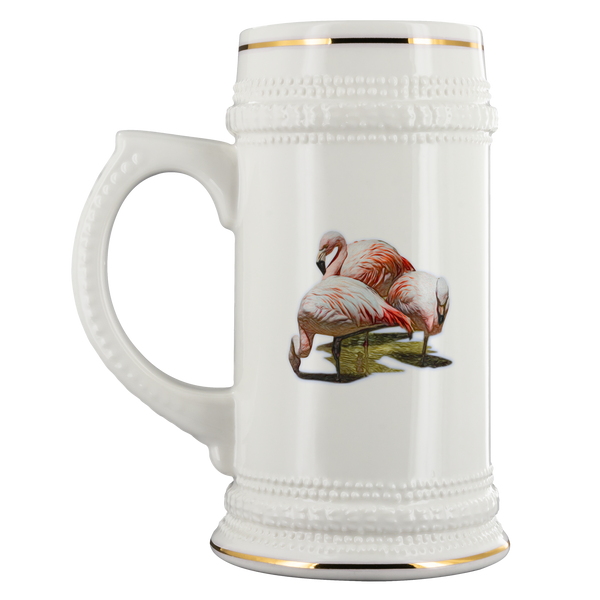 Flamingo Beer Stein