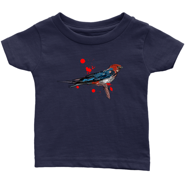 Lesser Striped Swallow Infant T-Shirt