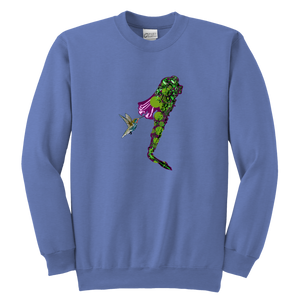 Humming Bird Youth Crewneck Sweashirt