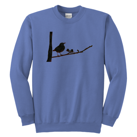 Black Bird Youth Crewneck Sweatshirt