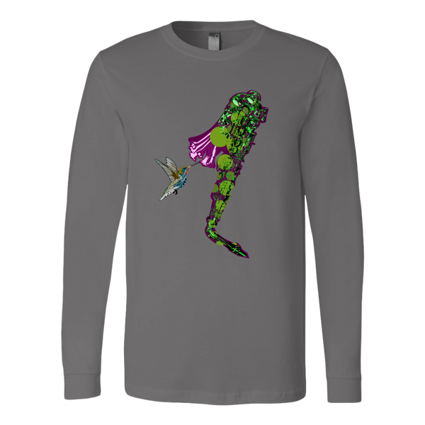 Hummingbird Canvas Long Sleeve Shirt