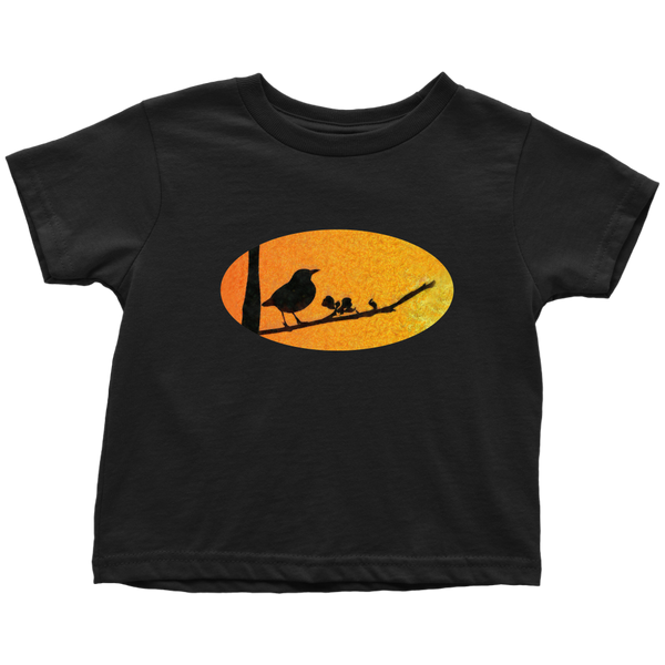 Black Bird Toddler T-Shirt