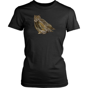 Great Horned Owl Women's Shirt