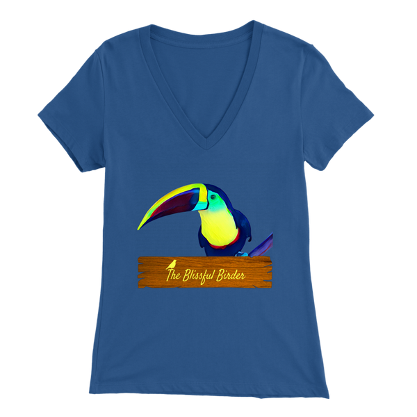 Toucan Bella Womens V-Neck