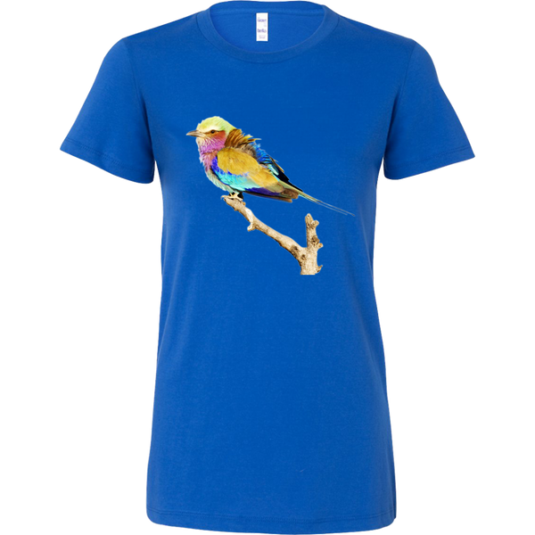 Lilac-breasted Roller Bella Womens Shirt