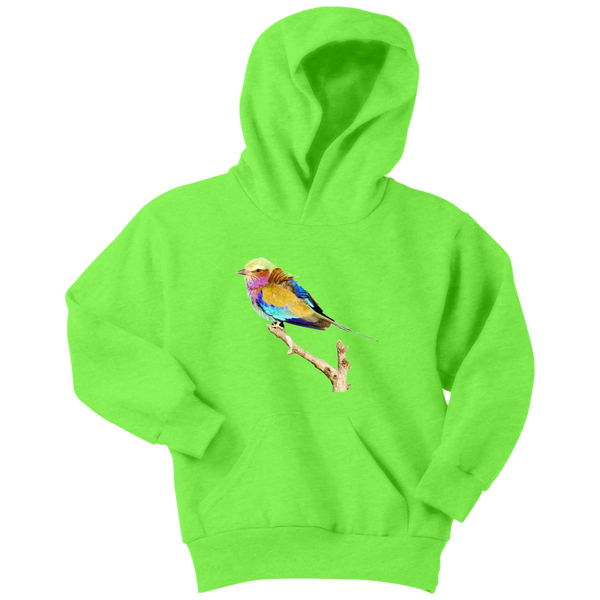 Lilac-breasted Roller Youth Hoodie