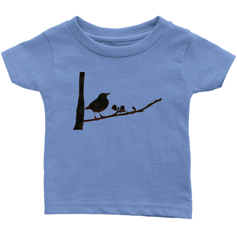Black Bird Infant T-Shirt