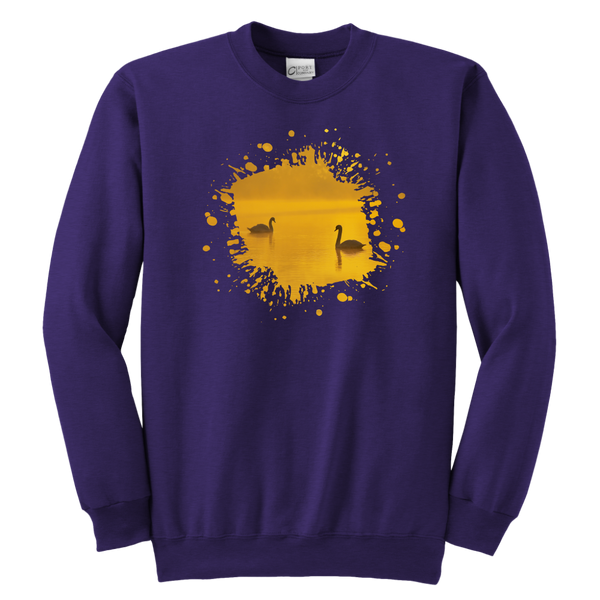 Swan Youth Crewneck Sweatshirt