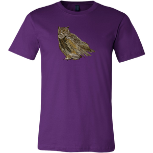 Great Horned Owl Men's Shirt