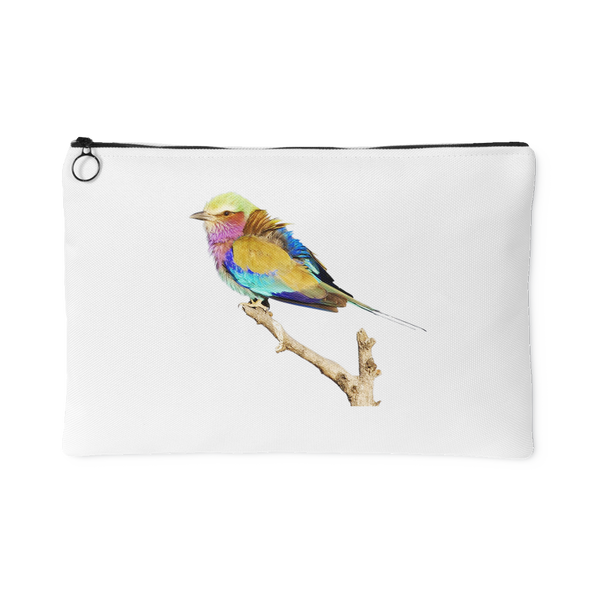 Lilac-breasted Roller Small Accessory Pouch