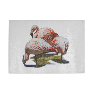 Flamingo Cutting Board