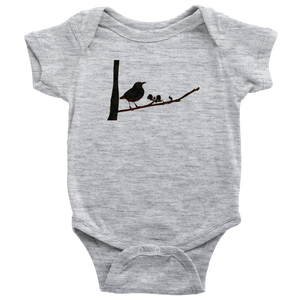 Black Bird Baby Bodysuit