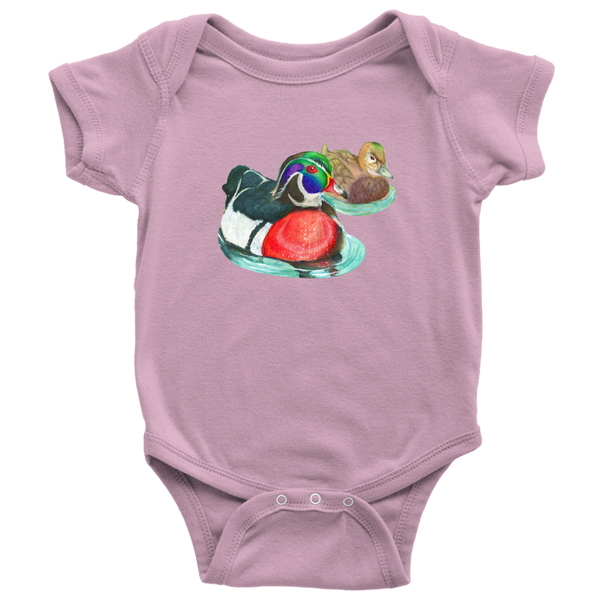Wood Duck Baby Bodysuit