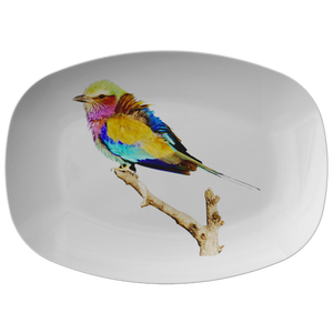 Lilac-breasted Roller Platter