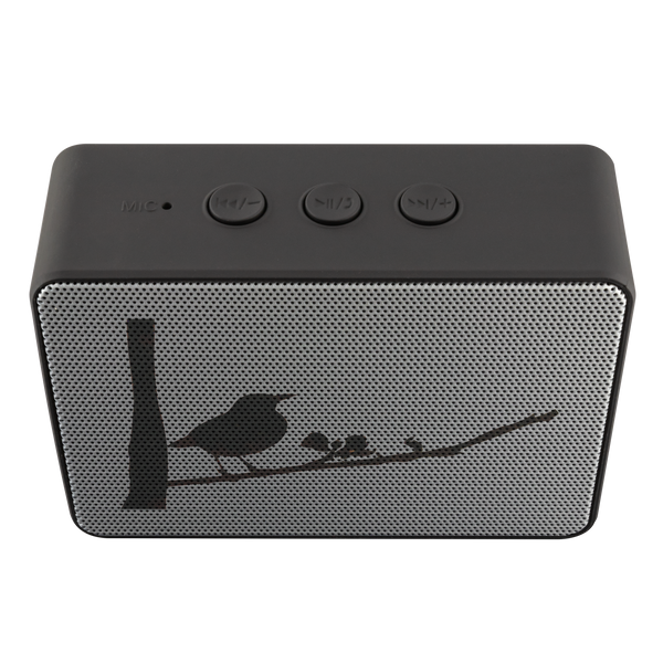 Black Bird Bluetooth Speaker Boxanne