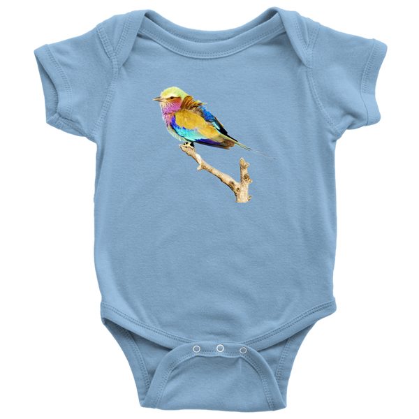 Lilac-breasted Roller Baby Bodysuit